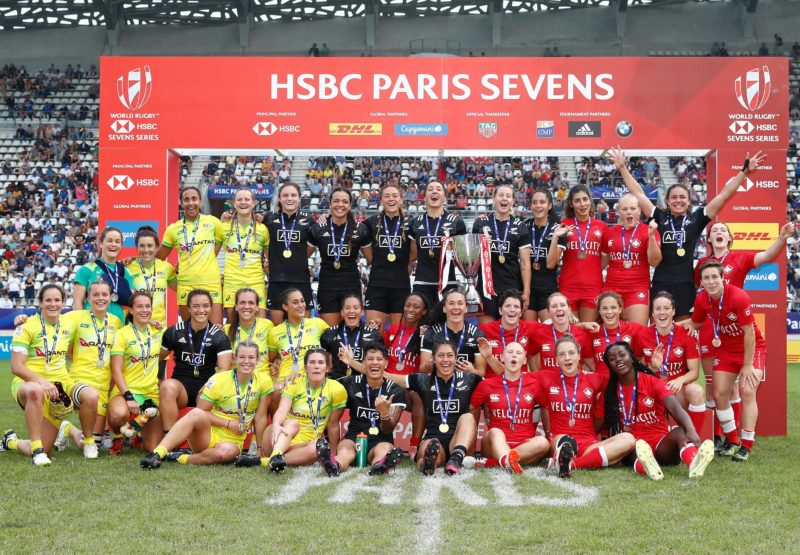 New Zealand win HSBC Women's Paris Sevens as Australia take series title