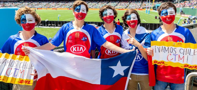 Chile confirmed as 16th team for North American leg of HSBC Sevens Series